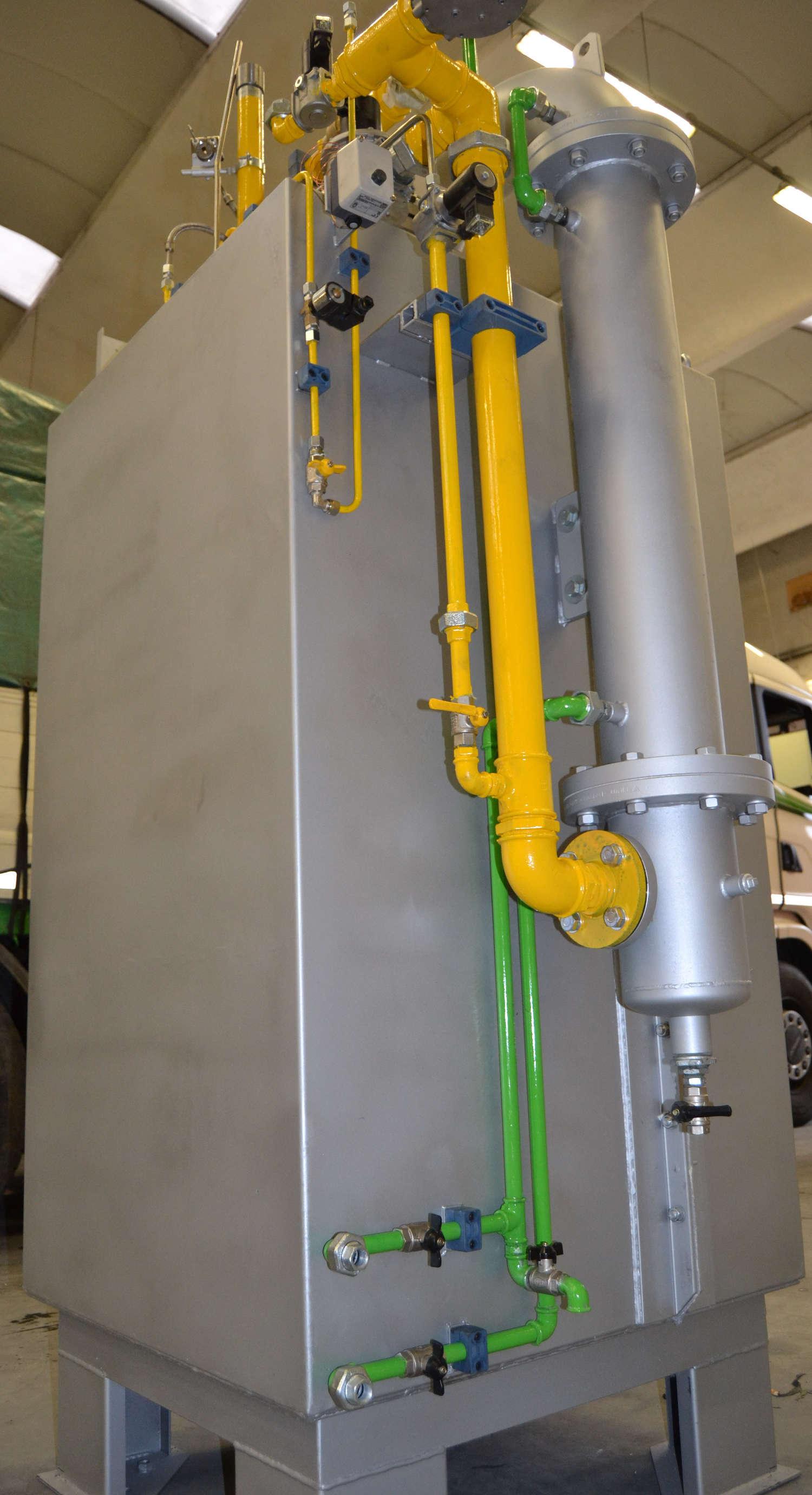 generatore gas protezione